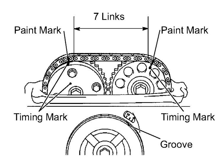 Toyota Camry Timing Belt Diagram - image details