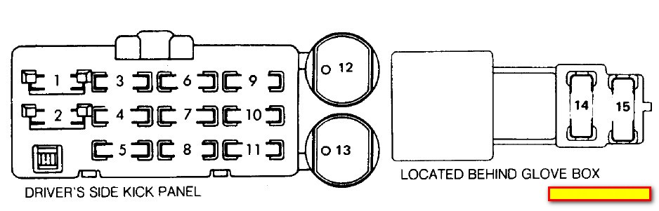 1987 Isuzu Pup Fuse Box Download Wiring Diagram