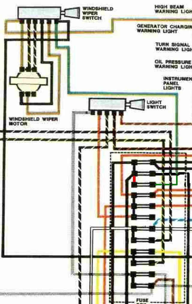 1971 VW Super Beetle Wiring - image details
