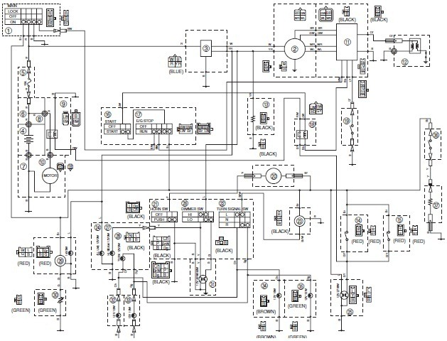 yamaha bear tracker 250 wiring diagram