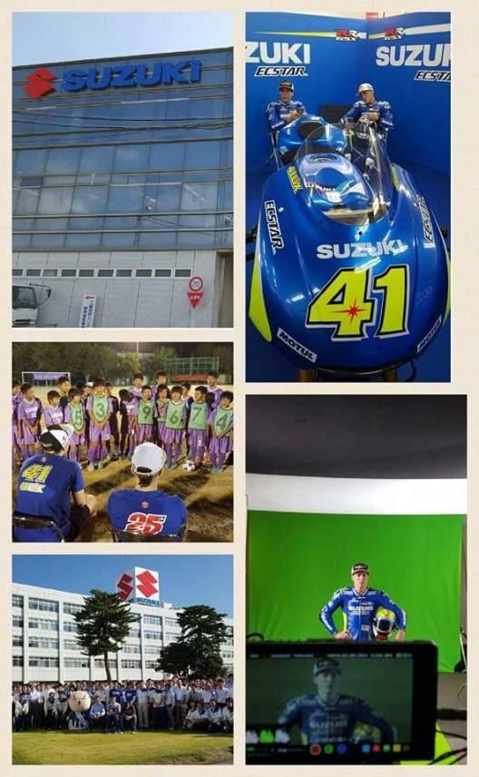 Aeix Espargaro Menghapus Foto Dirinya Tunggangi Suzuki Satria FU 150 FI..???