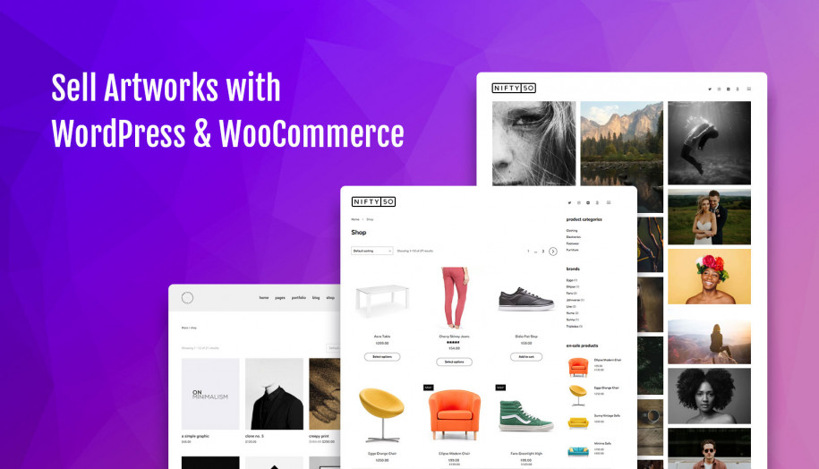 10+ WordPress WooCommerce Themes for Creatives - MotoPress