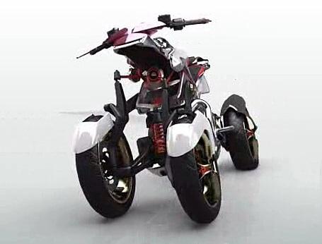 Yamaha four-wheeler