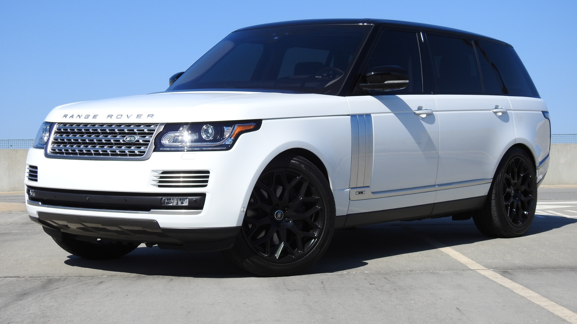 Garage Sale Rover 2017 Land Rover Range Rover Autobiography Lwb Stock Ha360689 For