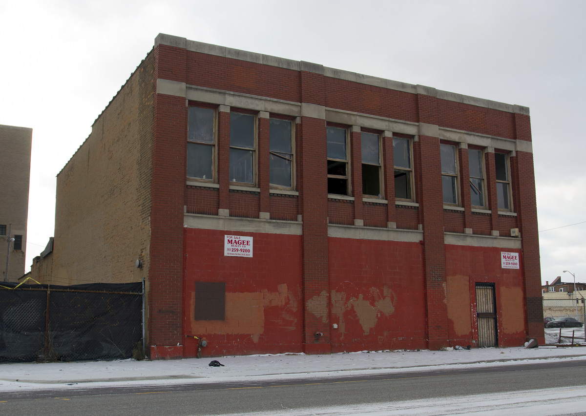 Warehouse For Sale Detroit Photos 50 Vacant Cass Corridor Buildings Whose Fate Likely Will