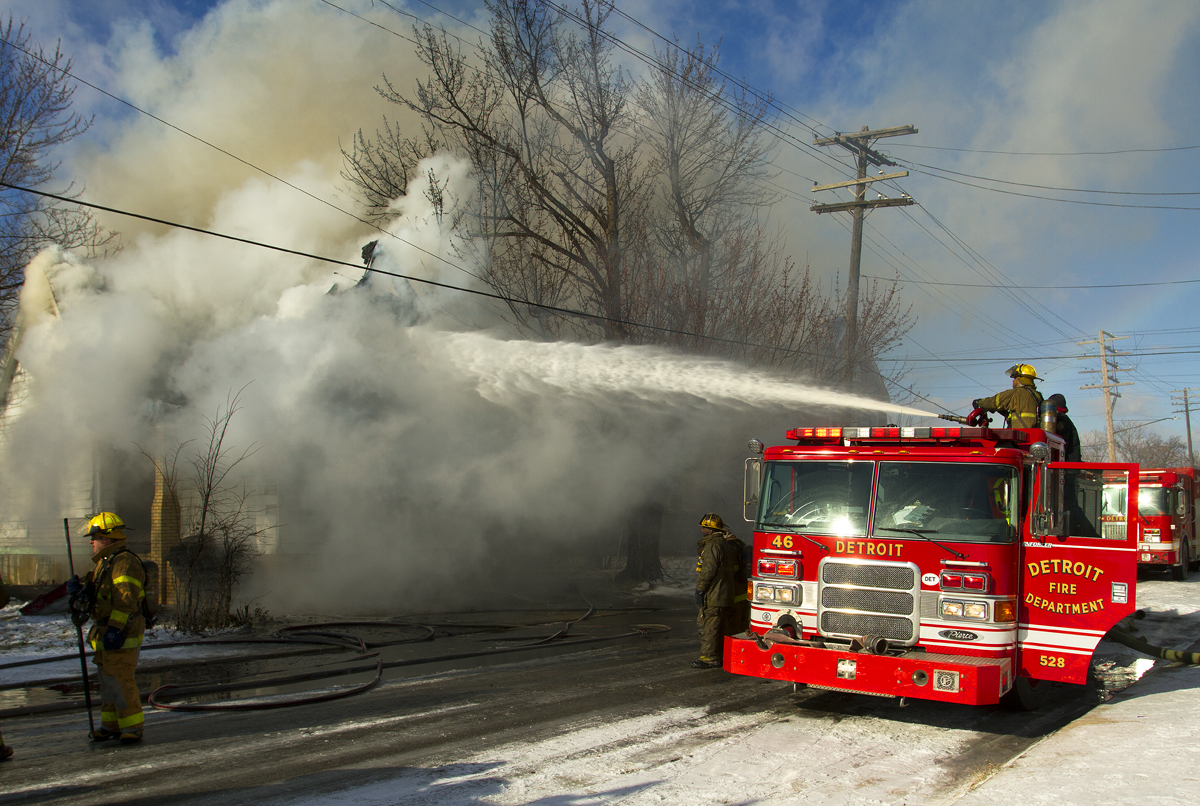 Finally! Detroit Fire Department to buy new aerial ladder trucks, squads, pumpers