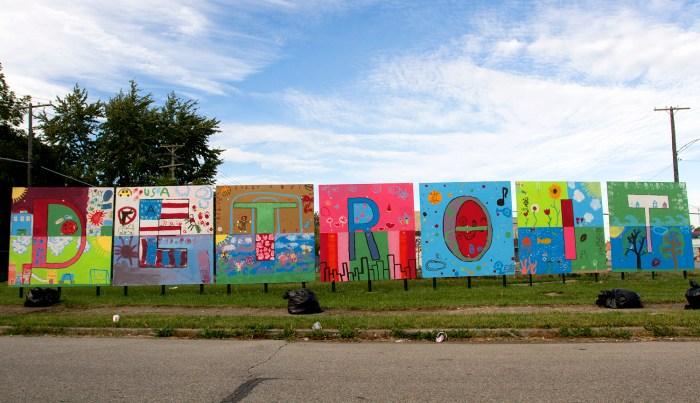Love & Hope: 20 inspiring murals in Detroit's neighborhoods