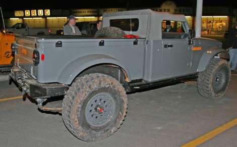 Jeep Nukizer M715 Pickup Truck Concept Moab Rear