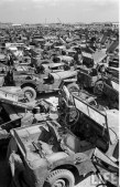 Jeep Willys MB Ford GPW Salvage Yard Okinawa 1949 A