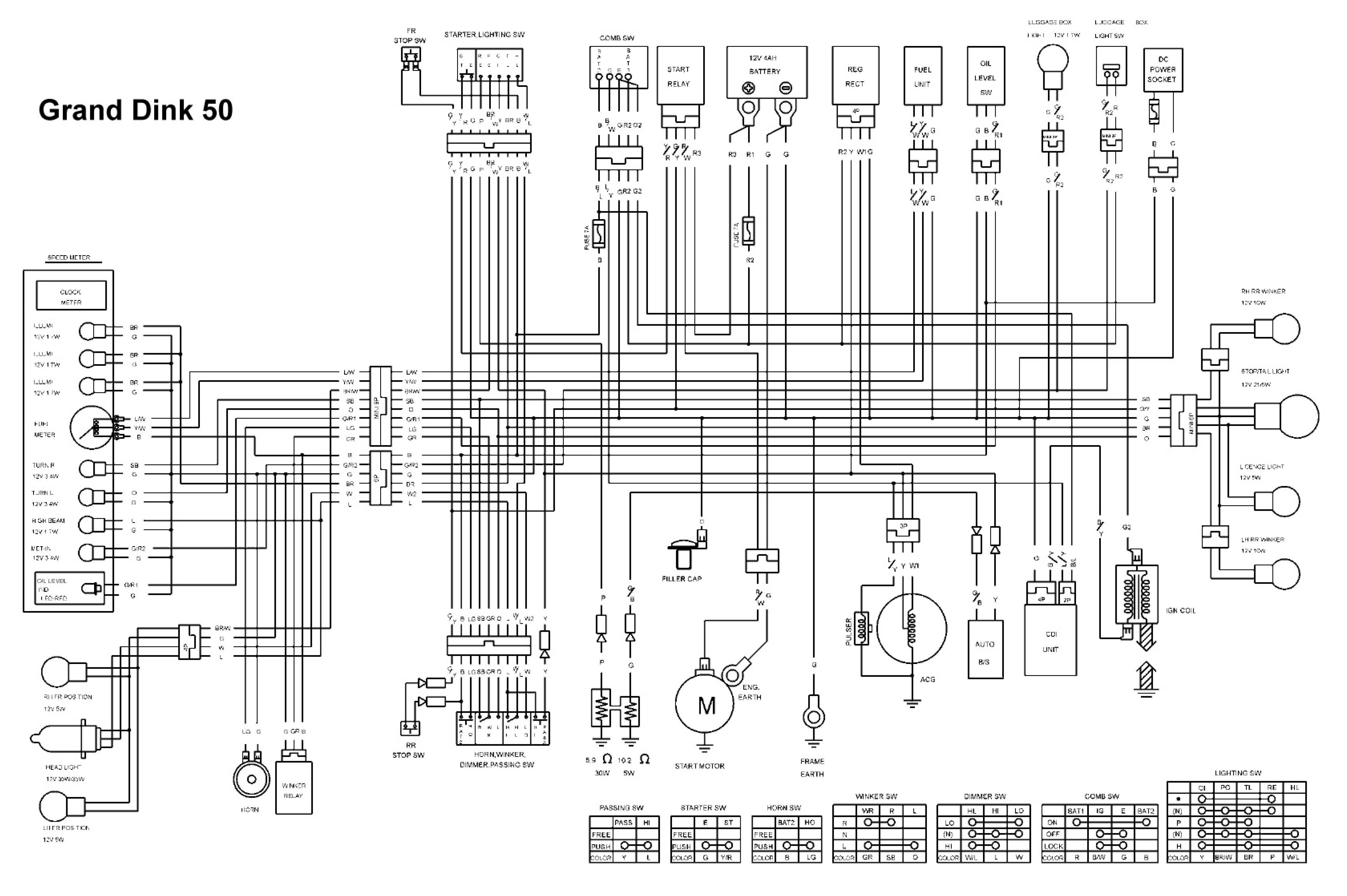 eton 4 wheeler schematics