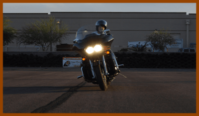 Swerve Your Motorcycle to Avoid A Road Hazard | TEAM Arizona