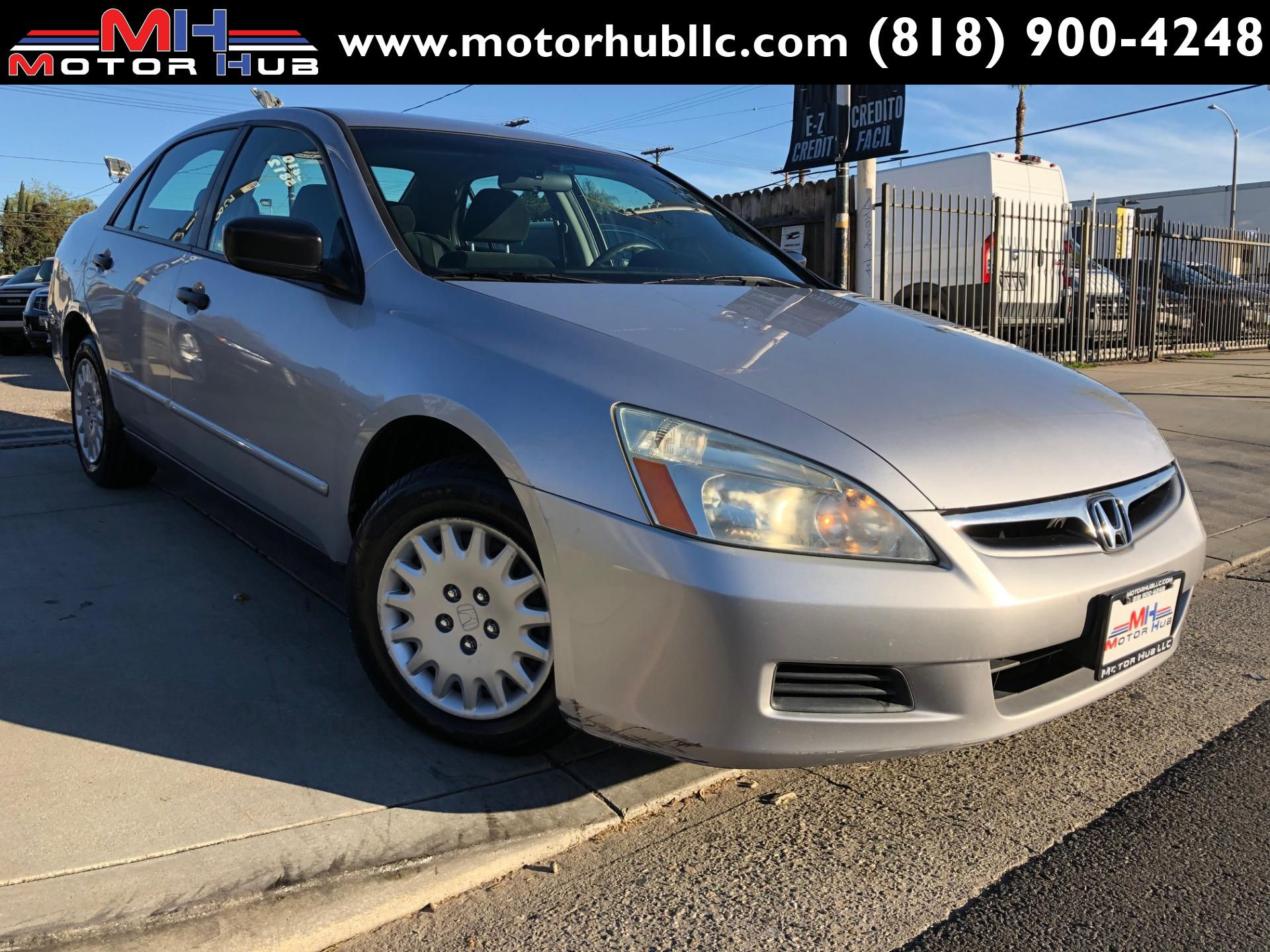 Garage Honda Sion 2006 Honda Accord Value Package Stock 156075 For Sale Near Van