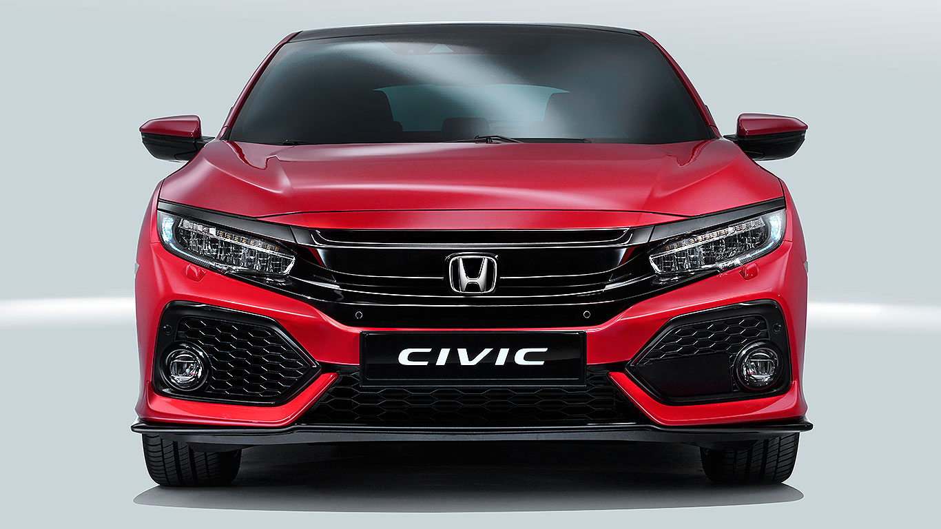 New Civic 2017 New 2017 Honda Civic Revealed Bolder Better And British