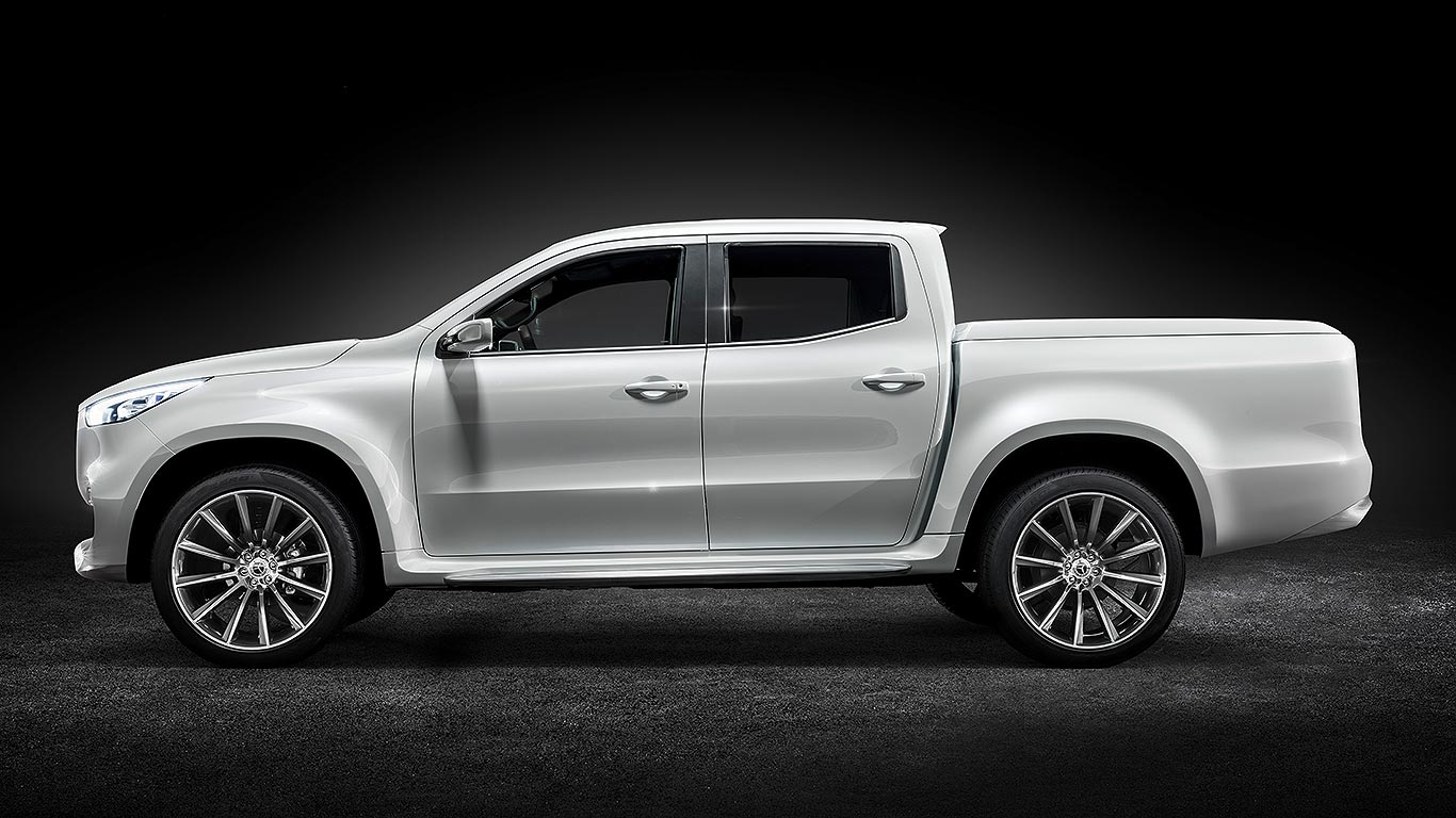 Pick Up Mercedes Benz X Class Pick Up Concept Everything You Need