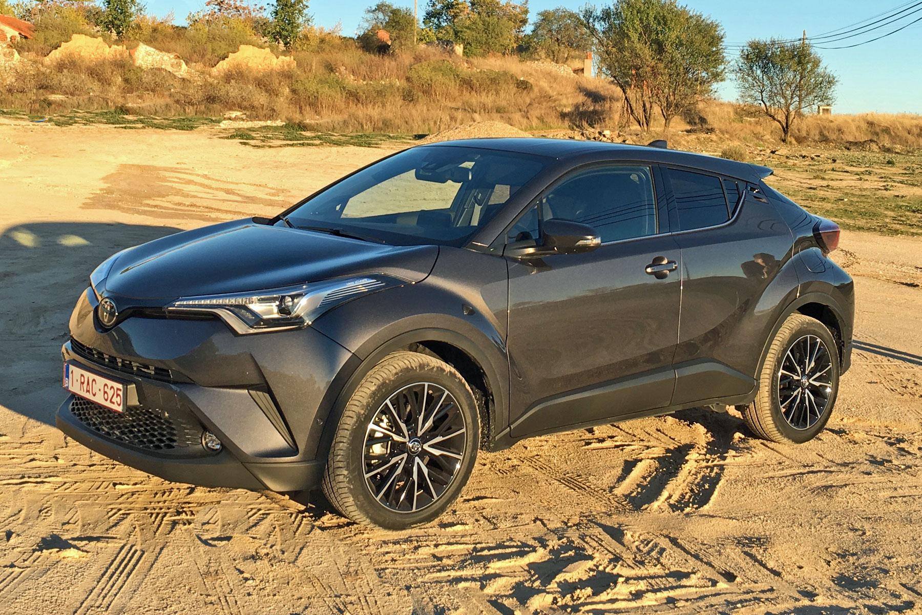 Chr Toyota 2017 Toyota C Hr Review A Trendy Crossover From An