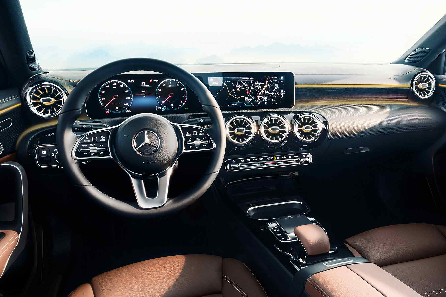 A Class 2018 Interior New 2018 Mercedes Benz A Class Interior Revealed