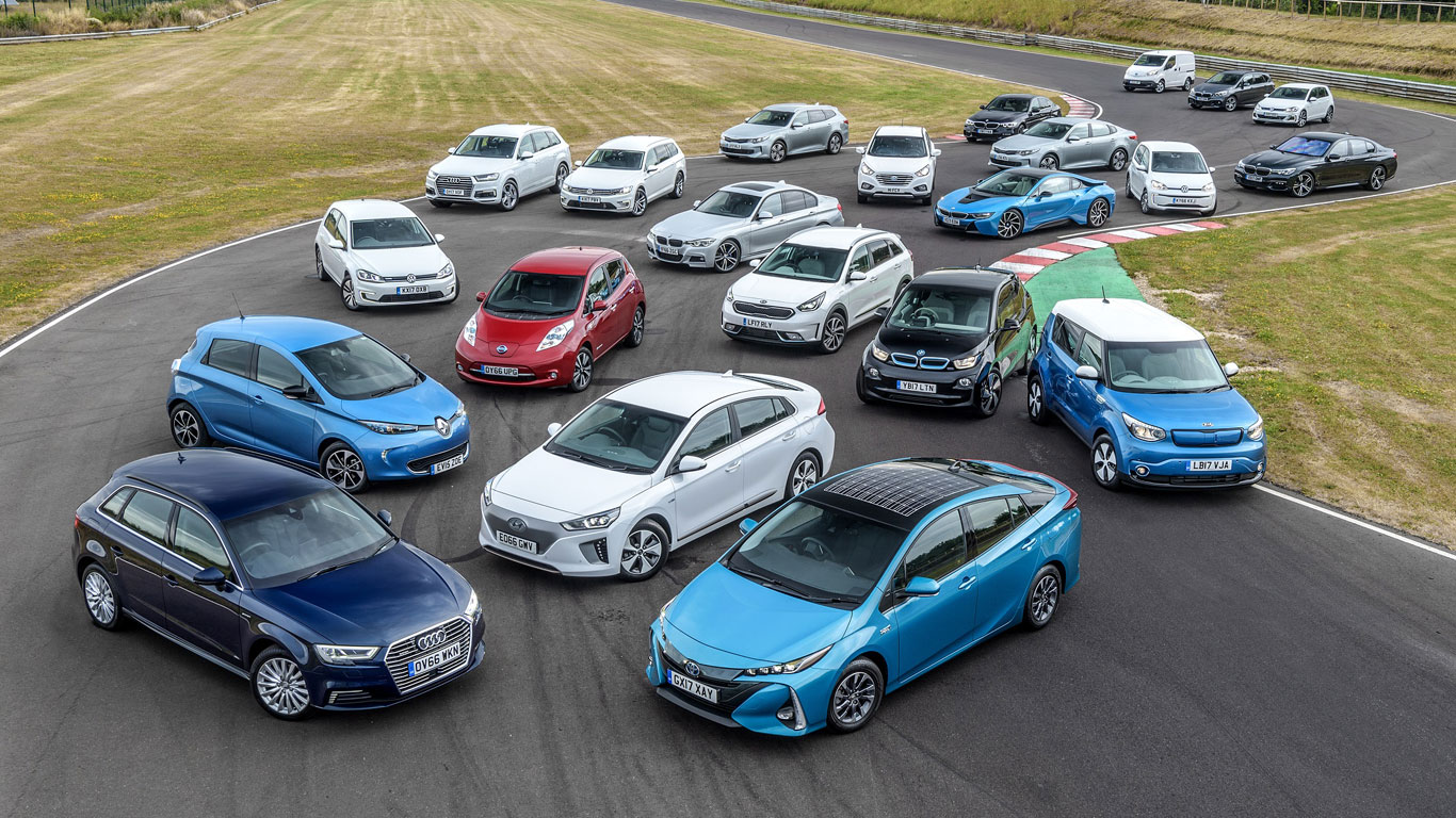 For Electric And Hybrid Vehicles The Uk S Most Popular Plug In Hybrid And Electric Cars In 2018