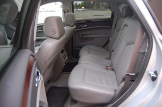 2012 Cadillac SRX Backseat