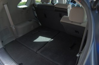 Reclining rear seats