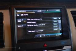 2013 Ford Flex Radio Alerts