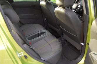 Rear seats fit 2 people