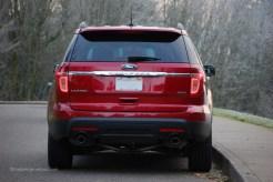 2013 Ford Explorer Rear