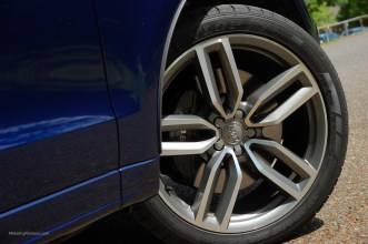 2014 Audi SQ5 21-inch 5-Double-Spoke Star-Design Wheels