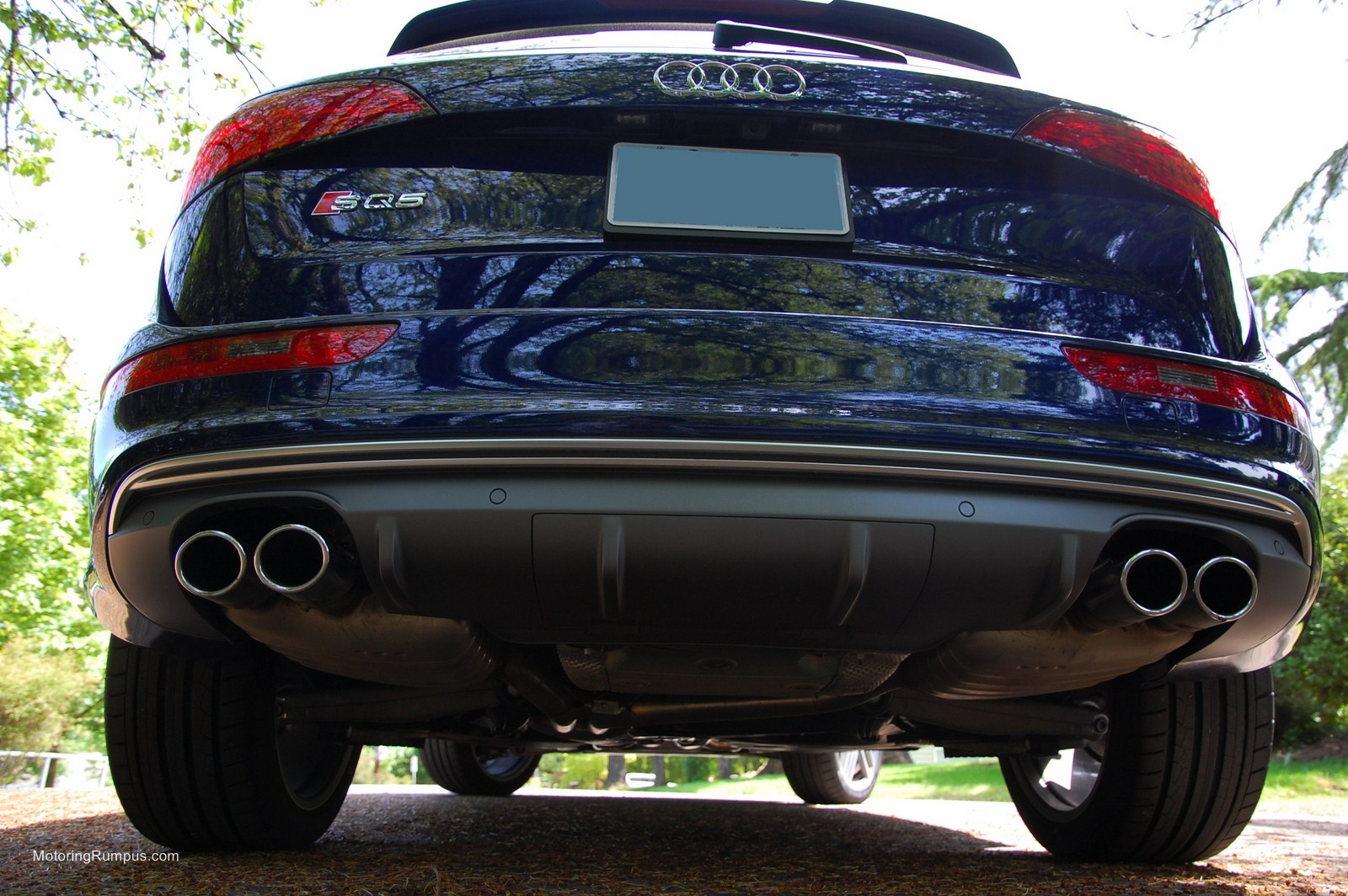 Audi Takes The Fake Exhaust Tips To A New Level With The