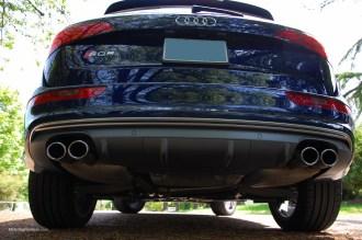 2014 Audi SQ5 Rear Diffuser
