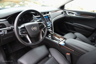 2014 Cadillac XTS Black Interior
