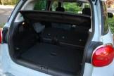 2014 FIAT 500L Seats Folded