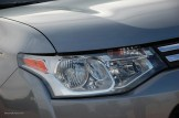 2014 Mitsubishi Outlander Headlight