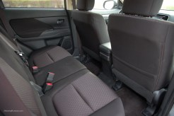 2014 Mitsubishi Outlander Rear Seats