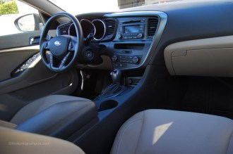 2013 Kia Optima Beige Interior