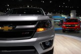 2014 NAIAS Chevy Colorado Z71 Front