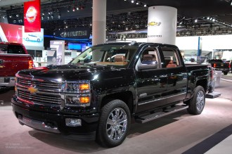 2014 NAIAS Chevy Silverado High Country