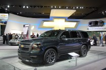 2014 NAIAS Chevy Tahoe Black Concept