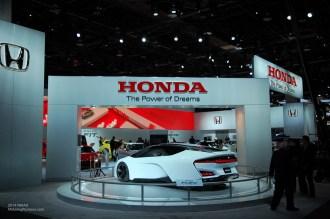 2014 NAIAS Honda FCEV Concept