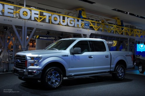 2014 NAIAS Ford 2015 F-150 Side