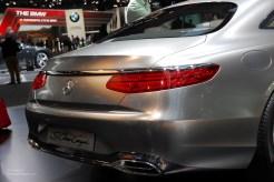 2014 NAIAS Mercedes-Benz S Class Coupe Rear Bumper