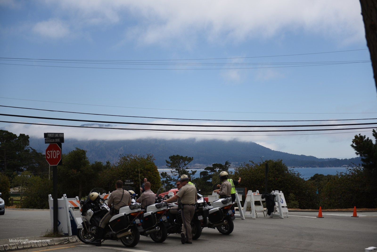 2014 Pebble Beach Concours Elegance Police