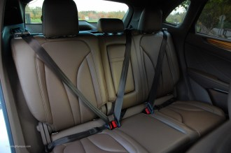 2015 Lincoln MKC Rear Seats