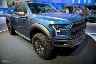 2015 NAIAS - 2017 Ford-F-150 Raptor