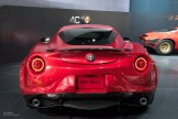 2015 NAIAS Alfa Romeo 4C Rear