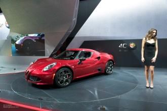 2015 NAIAS Alfa Romeo 4C