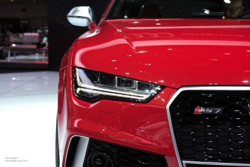 2015 NAIAS Audi RS7 Headlight