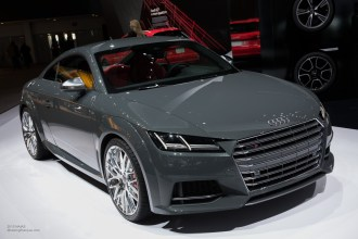 2015 NAIAS Audi TTS