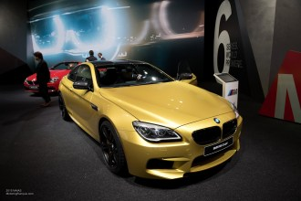 2015 NAIAS BMW M6 Coupe