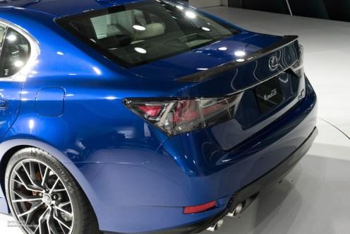 2015 NAIAS Lexus GS F Rear