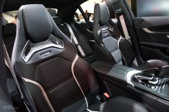 2015 NAIAS Mercedes-AMG C63 S Front Seats